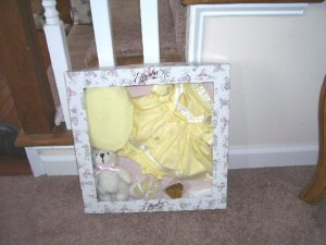 """Effanbee SUNSHINE SAILOR Outfit 18"""" - 20"""" BABY BUTTON NOSE Dolls NEW!"""
