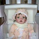 "Sarah Beth Porcelain Doll by Kathy Smith Fitzpatrick NIB! 22"" TALL"