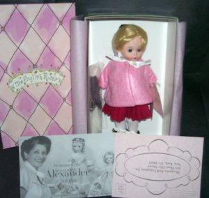 "Madame Alexander WENDY AS BINAH Doll NIB 8"" 2004"