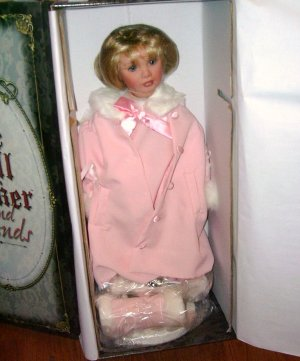 """The Doll Maker Mazie Pannell SKATING THRU LIFE 26"""" Vinyl Doll NIB LE 300 From 2005"""