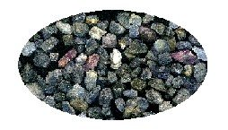 62 pieces natural rough Thai sapphire, total weight 36.3 ct. FREE GLOBAL SHIPPING!