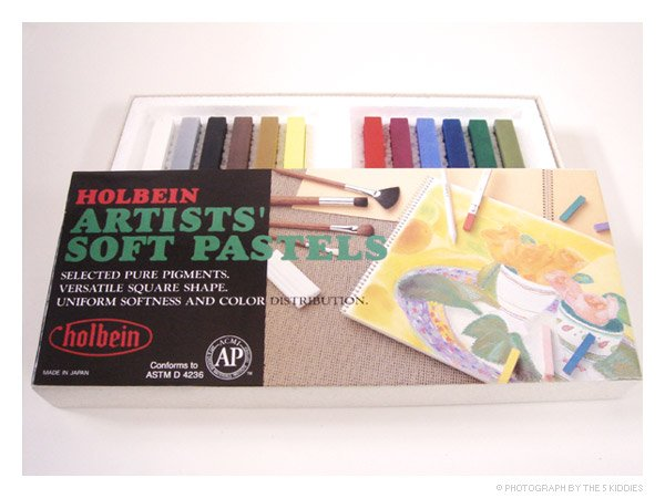 Holbien Artists' Soft Pastels