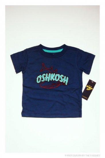 [SALE] 3-6M Babyboy OshKosh B'gosh Shortsleeve Top: OSHKOSH Shark