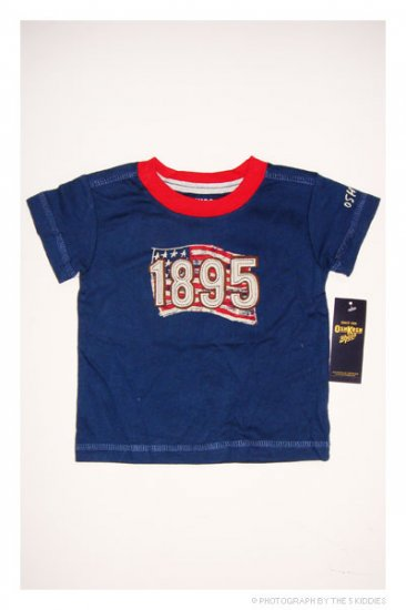 [SALE] 3-6M Unisex OshKosh B'gosh Shortsleeve Top: 1895 American