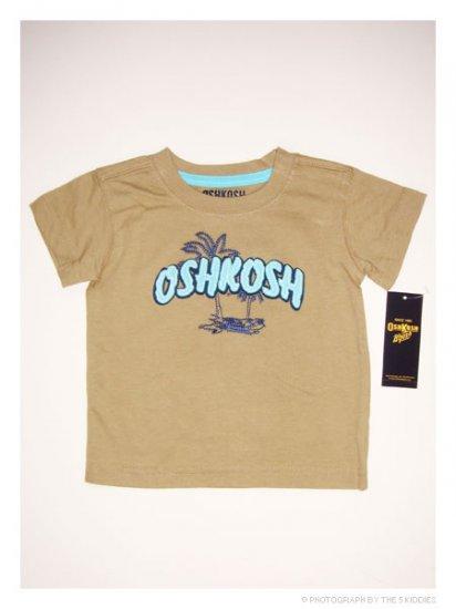 [SALE] 3-6M Unisex OshKosh B'gosh Shortsleeve Top: OSHKOSH Beach Wear