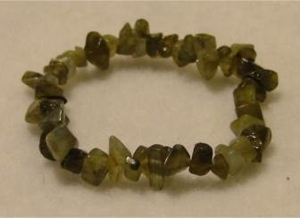 All-Natural Green Labradorite Bracelet