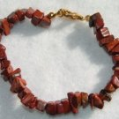 All-Natural Red Jasper Bracelet