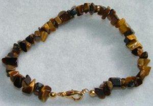 All-Natural Tiger's Eye Bracelet