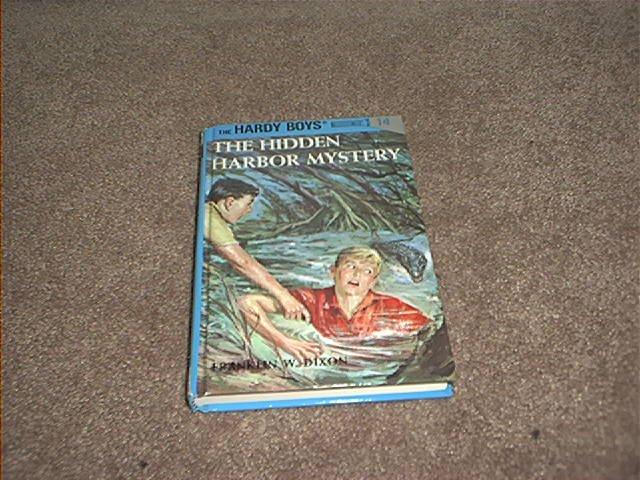 THE HARDY BOYS THE HIDDEN HARBOR MYSTERY BOOK