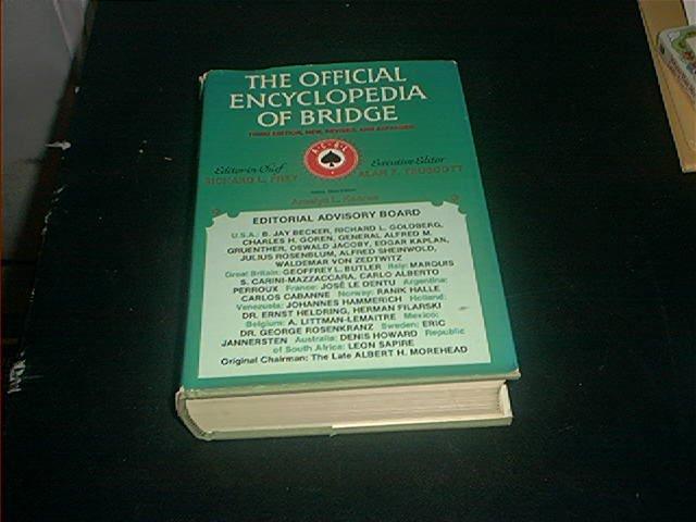 THE OFFICIAL ENCYCLOPEDIA OF BRIDGE BOOK 3RD EDITION
