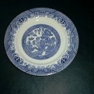 BLUE WILLOW PATTERN SANDWICH PLATE EXCELLENT CONDITION RARE
