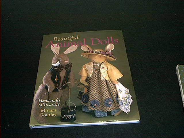 BEAUTIFUL ANIMAL DOLLS BOOK HARDCOVER FROM 2001