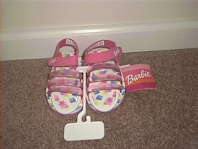 Buster Brown BARBIE SANDALS Size 11 Childrens NEW!