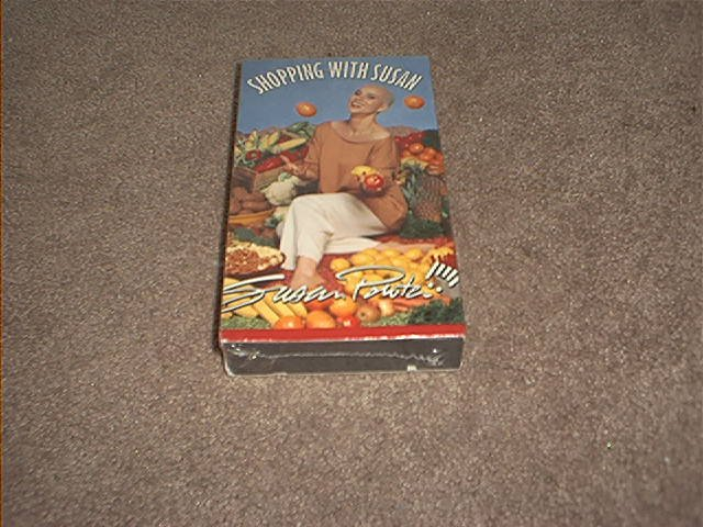 SHOPPING WITH SUSAN POWTER VHS VIDEO BRAND NEW
