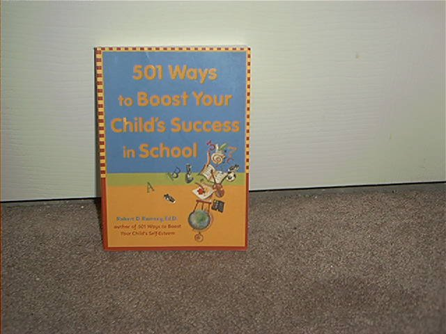 HOW TO BOOST YOUR CHILD'S SUCCESS IN SCHOOL BOOK ~BRAND NEW!~