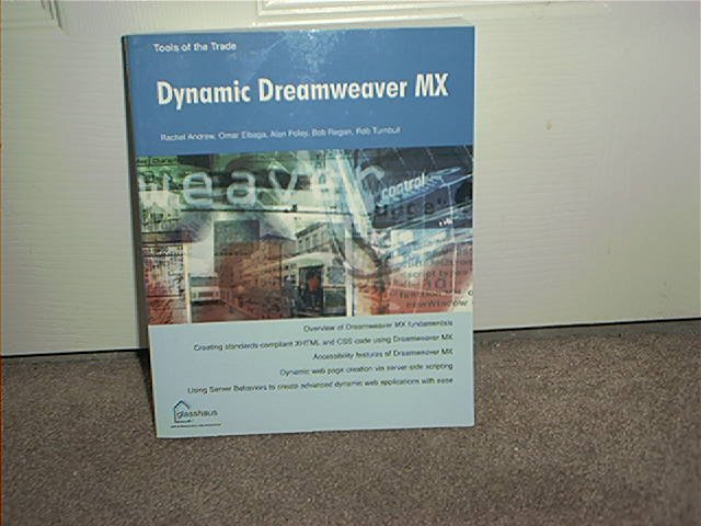 DYNAMIC DREAMWEAVER MX ~TOOLS OF THE TRADE SERIES~ BOOK BRAND NEW!