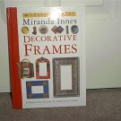 DECORATIVE FRAMES CRAFT BOOK BRAND NEW