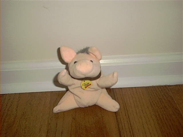 BABE Plush Bean Bag - Pig In The City 7""