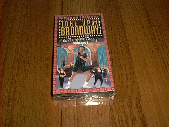 RICHARD SIMMONS TONE UP ON BROADWAY A COMPLETE TONING WORKOUT VHS BRAND NEW & SEALED