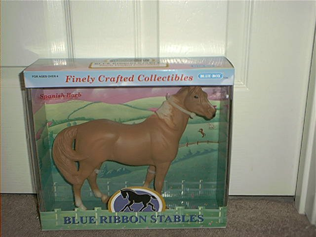 BLUE RIBBON STABLES SPANISH BARB COLLECTIBLE HORSE BRAND NEW