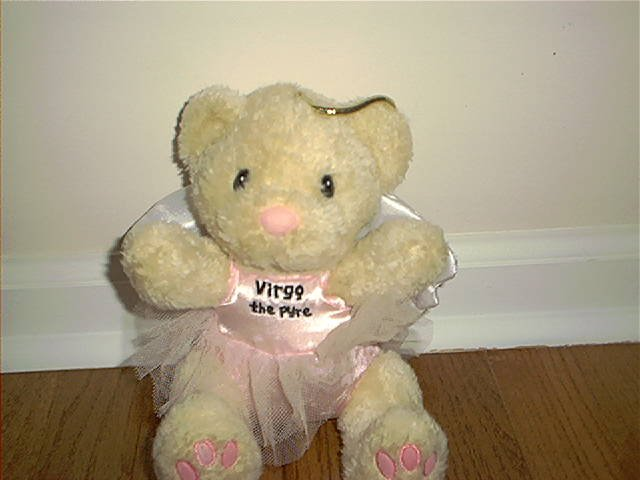 ENESCO VIRGO THE PYRE BEAR EXCELLENT CONDITION