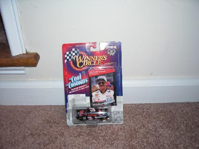 DALE EARNHARDT WINNER'S CIRCLE 1957 CHEVROLET BEL AIR HARDTOP NEW! 1998