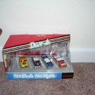 Hot Wheels HOT NIGHTS DRIVE IN 4 CAR SET BRAND NEW! RARE! 1999