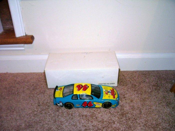 NASCAR WOODY WOODPECKER ~ WALLY DALLENBACH ~ DIECAST CAR NIB! 1997
