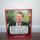 RONALD REAGAN REMEMBERED BOOK NEW! w/BONUS DVD 2HRS
