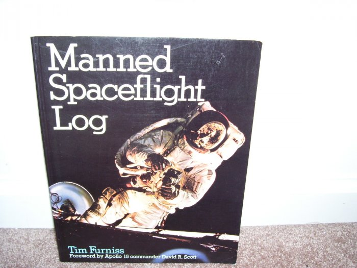 MANNED SPACEFLIGHT LOG BOOK EXC COND! 1983 TIM FURNISS MADE IN UK! RARE