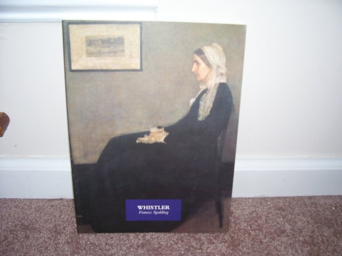 WHISTLER * ART BOOK * By Frances Spalding EXC COND! 1979