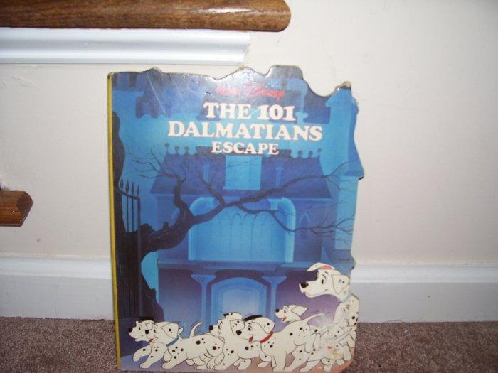 DISNEY THE 101 DALMATIONS ESCAPE BOARD BOOK ~EXCELLENT CONDITION!~ 1988
