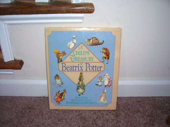 A CHILD'S TREASURY OF BEATRIX POTTER BOOK ~EXCELLENT CONDITION!~ 1987