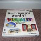 TEACH YOURSELF WORD 97 VISUALLY BOOK ~BRAND NEW!~ 600 COLOR ILLUSTRATIONS!