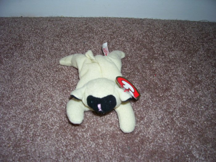 TY TEENIE Beanie Baby CHOPS The Lamb with Tag! From 1993