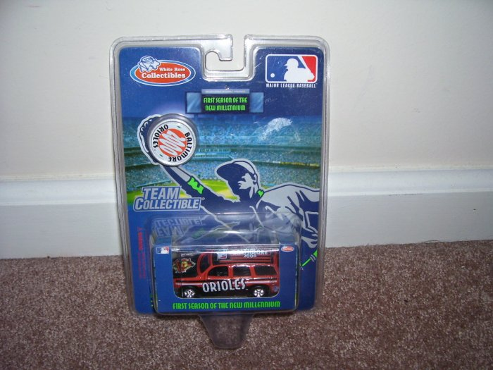 White Rose Collectibles BALTIMORE ORIOLES Diecast Vehicle w/COIN NEW! 2000