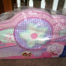 MARSHMALLOW ~ PINK PLUSH HEAD BOARD ~ FOR GIRLS TWIN BED BRAND NEW!