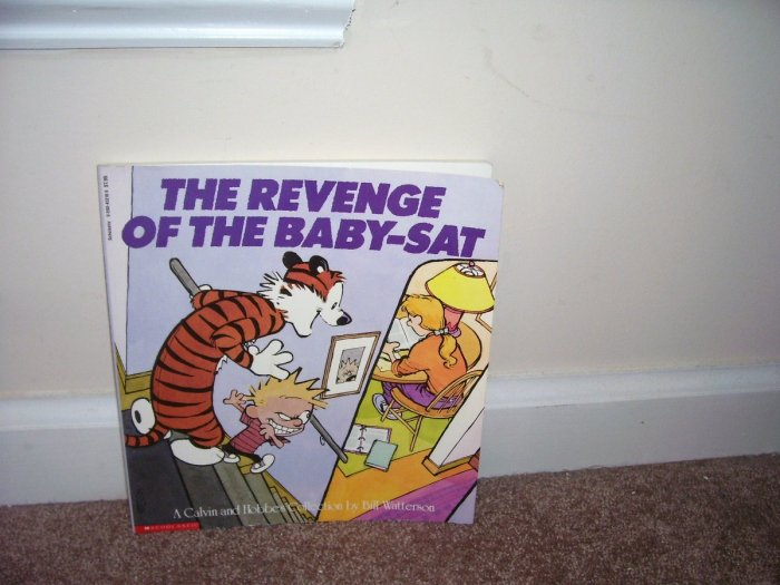 CALVIN AND HOBBES * THE REVENGE OF THE BABY-SAT * Humor Book EXC! 1991