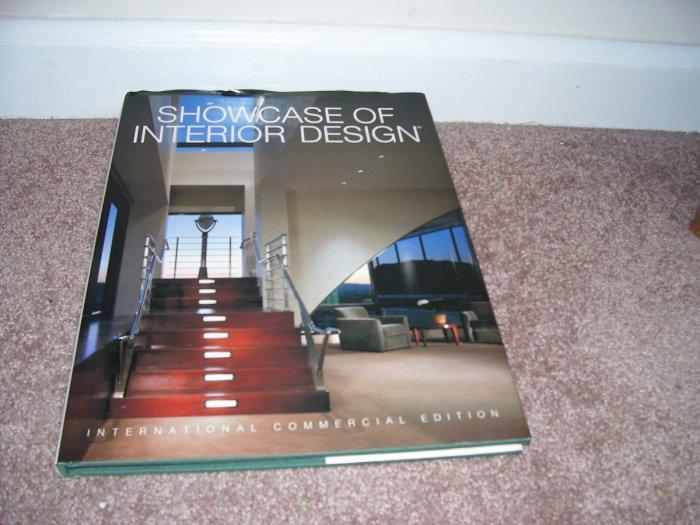 SHOWCASE OF INTERIOR DESIGN BOOK - INTERNATIONAL COMMERCIAL EDITION HC DJ 1992 HTF!