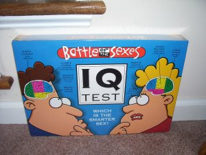 BATTLE OF THE SEXES IQ TEST Board Game BRAND NEW & SEALED! GREAT FOR PARTIES!