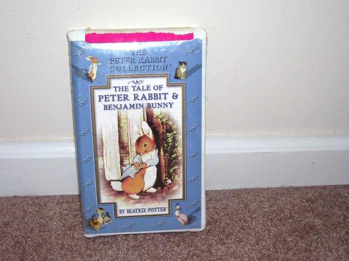 BEATRIX POTTER The Tale of Peter Rabbit & Benjamin Bunny VHS NEW! CLAMSHELL CASE!