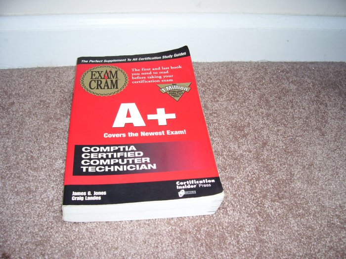 EXAM CRAM A+ CCCT Book From 1998 Paperback