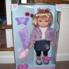 "ALL ABOUT GIRLS * FASHION FUN DOLL SET * BRAND NEW! 18"" RARE!"