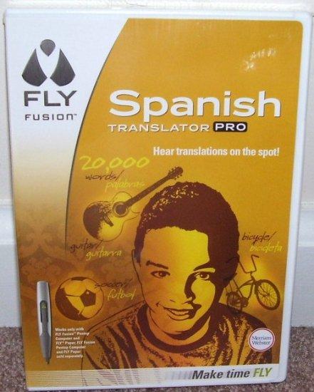 Leap Frog FLY FUSION * SPANISH TRANSLATOR PRO * SOFTWARE * NEW! *