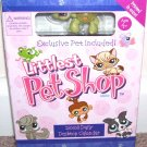 THE LITTLEST PET SHOP 2008 DESKTOP BOXED CALENDAR! w/EXCLUSIVE LITTLEST PET! NEW!