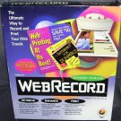 WEBRECORD INTERNET PRINTING SOFTWARE * NEW *