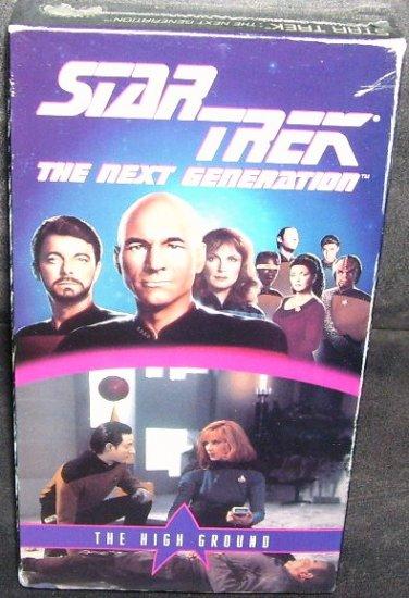 STAR TREK THE NEXT GENERATION * THE HIGH GROUND * VHS NEW & SEALED!