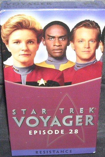 STAR TREK VOYAGER * RESISTANCE * EPISODE 28 VHS * NEW *