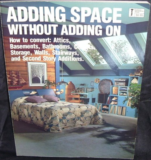 ADDING SPACE WITHOUT ADDING ON BOOK * EXCELLENT CONDITION! * 1980