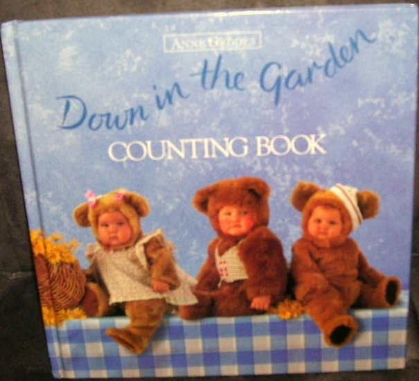 ANNE GEDDES * DOWN IN THE GARDEN COUNTING BOOK * EXC/NM COND! 1997 H/C